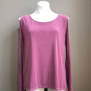 AMERICAN EAGLE Cold Shoulder Tee Size S